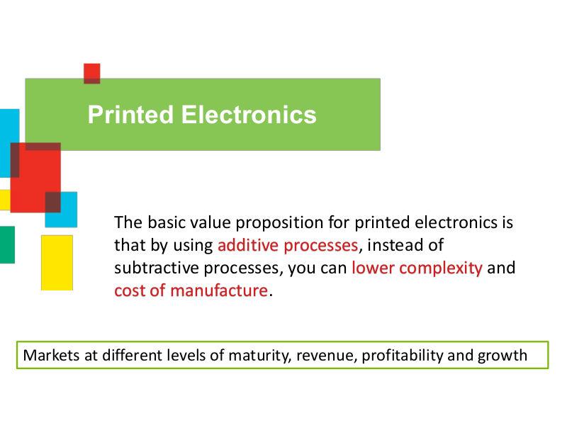 Printed Electronics - SERVILAN